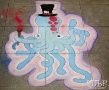 Octopus, Chalk It Up, Fremont Park, Sacramento, CA, September 4, 2017 Photo Dan Tyree