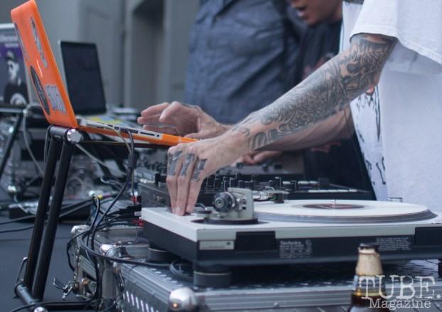 Spinning Tunes, Art Mix Crocker-Con, Crocker Art Museum, Sacramento, CA, September 14, 2017, Photo by Dan Tyree