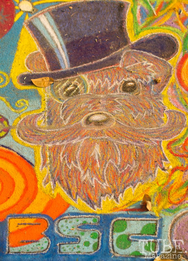 Doggo, Chalk It Up, Fremont Park, Sacramento, CA, September 4, 2017 Photo Dan Tyree