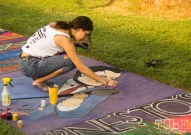 Sing It!, Chalk It Up, Fremont Park, Sacramento, CA, September 4, 2017 Photo Dan Tyree
