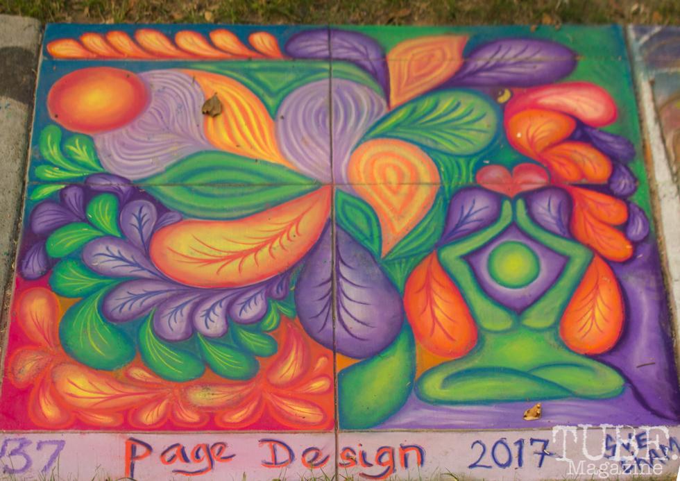 Chalk It Up, Fremont Park, Sacramento, CA, September 4, 2017 Photo Dan Tyree