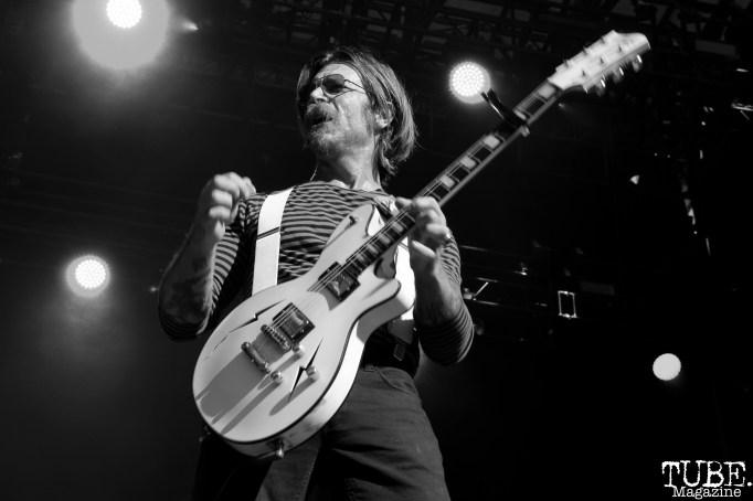 ead singer/Guitarist Jesse Everett Hughes of Eagles Of Death Metal, Aftershock, Discovery Park, Sacramento, CA. October 21, 2017. Photo Anouk Nexus