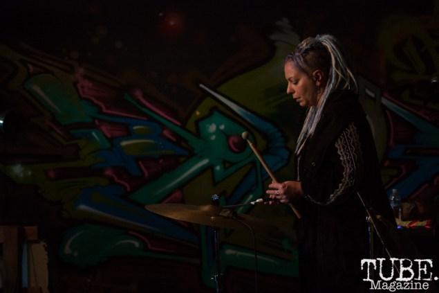 NINAH PIXIE performing at Norcal Noisefest XXI at The Colony in Sacramento, CA (10/8/2017). Photo Cam Evans.