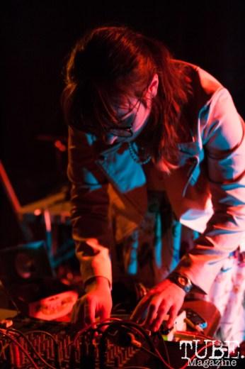 TARANTULA PRINCESS performing at Norcal Noisefest XXI at Cafe Colonial in Sacramento, CA (10/8/2017). Photo Cam Evans.