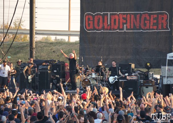 Goldfinger at Punk in Drublic Craft Beer and Music Festival at Papa Muphy's Park, Sacramento CA, October 15th 2017. Photo Joey Miller