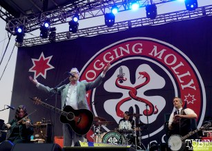 Flogging Molly, Punk in Drublic Craft Beer and Music Festival at Papa Muphy's Park, Sacramento CA, October 15th 2017. Photo Joey Miller