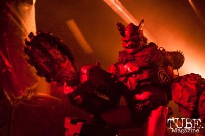 Matt Maguire (Sawborg Destructo) performing at Ace Of Spades in Sacramento, CA (11-19-2017). Photo Cam Evans