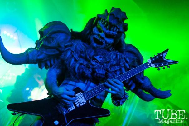 Brent Purgason (Pustulus Maximus) performing at Ace Of Spades in Sacramento, CA (11-19-2017). Photo Cam Evans