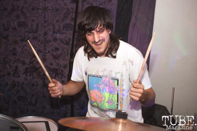 Kyle of Burd performing at The Morgue in Davis, CA (1/20/2018). Photo Cam Evans