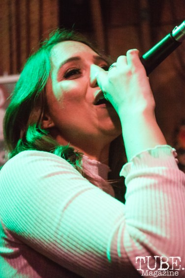 Our People performing at Powerhouse Pub in Folsom, CA (1/17/2018). Photo Cam
