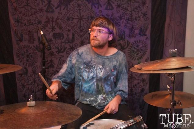 Eric of Yawzea performing at The Morgue in Davis, CA (1/20/2018). Photo Cam Evans