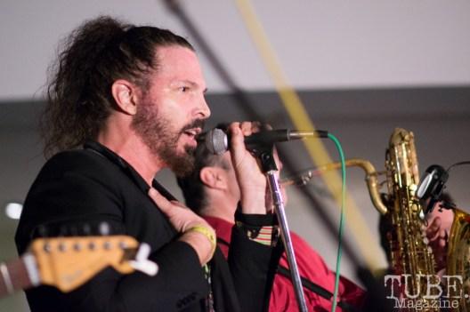 Hans Eberbach of Joy & Madness, Audio Muse, Crocker Art Gallery, Sacramento, CA, December 21, 2017, Photo by Daniel Tyree