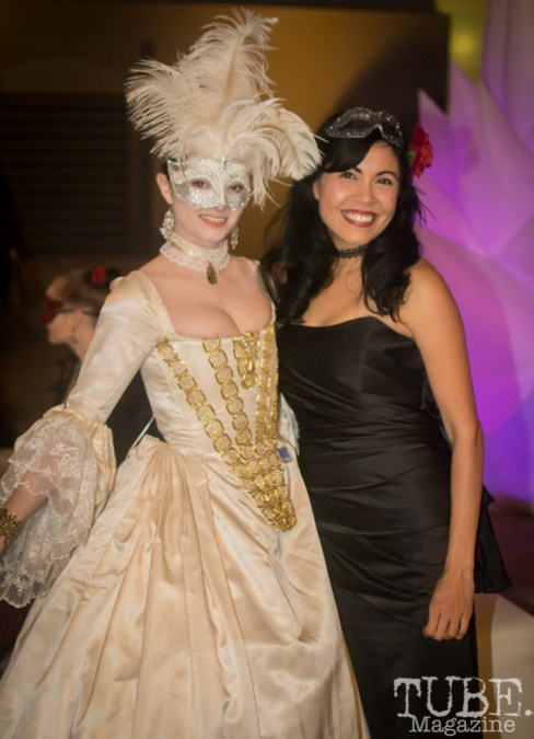 Mary and Christina, Art Mix Masquerade, Crocker Art Gallery, Sacramento, CA January 11, 2018, Photo by Daniel Tyree