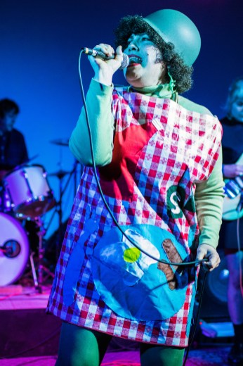 X Ray Spex Halloween Show. Verge Center for the Arts. Sacramento CA. March 27, 2017. Photo Mickey Morrow