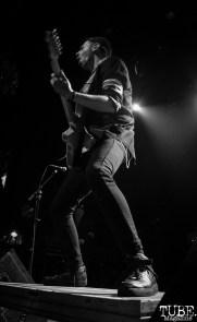 Guitarist Boris Pelekh of Gogol Bordello, The Fillmore, San Francisco, CA. February 27th, 2018. Photo Anouk Nexus