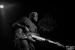 Bassist Thomas Gobena of Gogol Bordello, The Fillmore, San Francisco, CA. February 27th, 2018. Photo Anouk Nexus