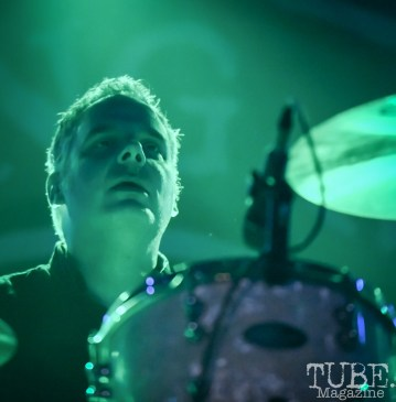 Mike Alonso of Flogging Molly, Ace of Spades, Sacramento, CA, March 21, 2018. Photo by Daniel Tyree
