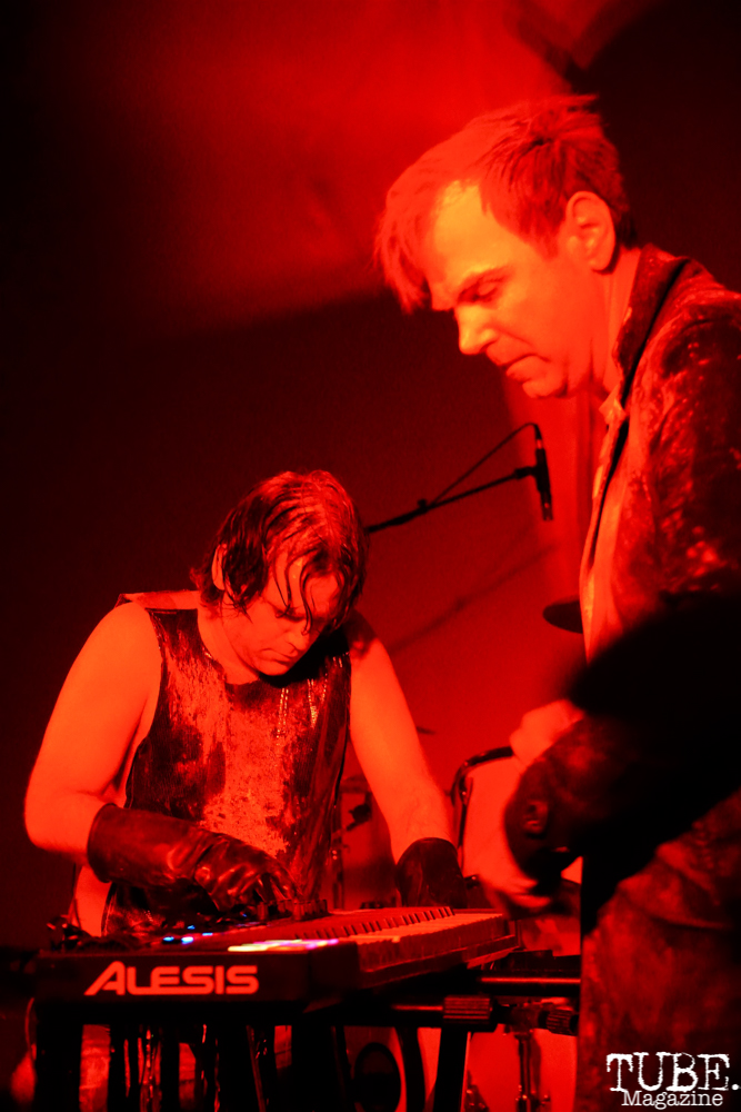 NIN performs at the Sac Halloween Show 2018, Verge Theater for the Arts, Sacramento CA, March 24th, 2018. Photo Joey Miller