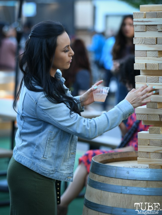 Jenga, The 24k Block Party, May 19, 2018, Sacramento, CA, Photo by Daniel Tyree