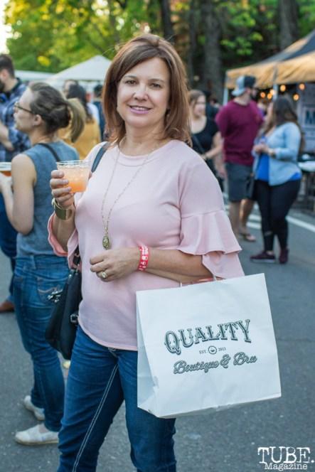 Deb Morrow, The 24k Block Party, May 19, 2018, Sacramento, CA, Photo by Mickey Morrow