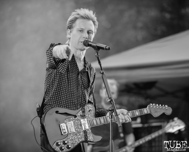 Alex Kapranos of Franz Ferdinand, Concerts in the Park, Sacramento, CA, May 18, 2018, Photo by Daniel Tyree