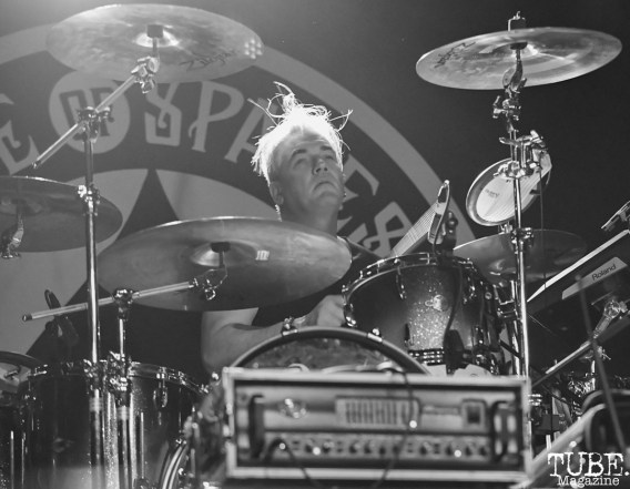 Paul Kehoe of Peter Hook and the Light, Ace of Spades, Sacramento, CA, May 21, 2018, photo by Daniel Tyree