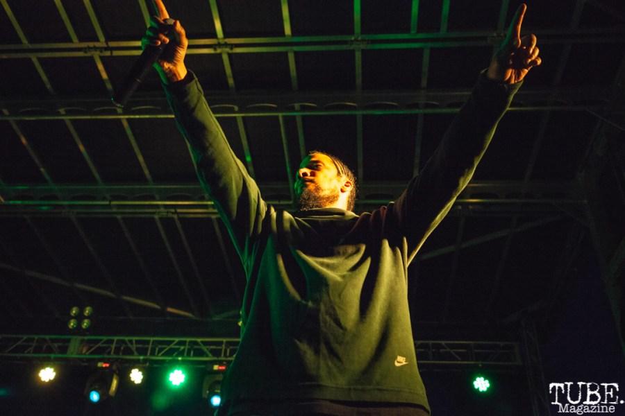 Blackalicious performing at First Festival in Sacramento, CA (5/5/2018). Photo Cam Evans