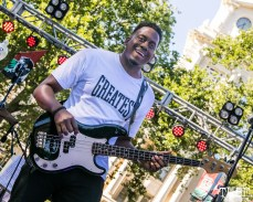 National Lines, Concerts in the Park, Cesar Chavez Park, Sacramento, CA. June 8, 2018. Photo Mickey Morrow