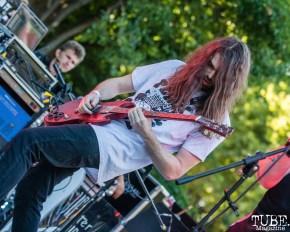 Drop Dead Red, Concerts in the Park, Cesar Chavez Park, Sacramento, CA. June 8, 2018. Photo Mickey Morrow