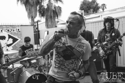 Monster Squad performing at Phono Select Records in Sacramento, CA (7/29/2018). Photo Cam Evans