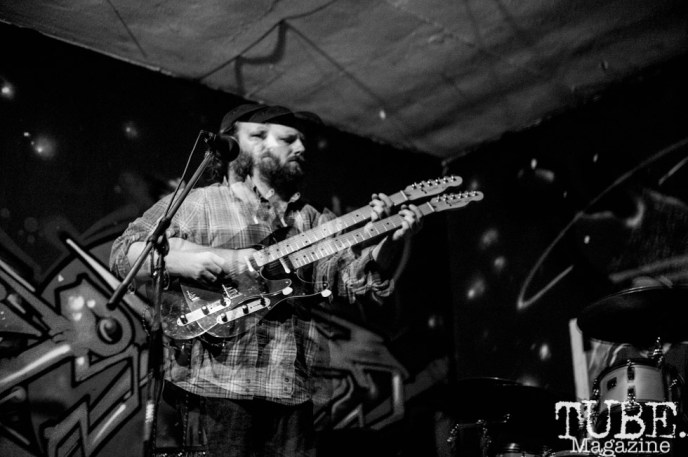 Donald Beaman performing at The Colony, in Sacramento CA. July 2018. Photo by Heather Uroff.