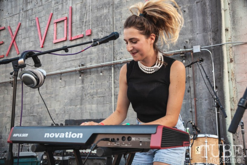 Lillian Frances performing at The Red Museum for Red Ex Vol. 2 in Sacramento, CA Lillian Frances performing at The Red Museum for Red Ex Vol. 2 in Sacramento, CA. September 22, 2018. Photo Cam Evans.