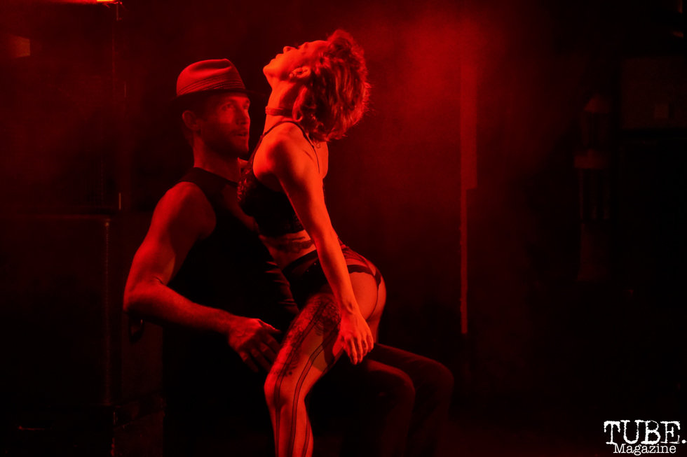 Zouk Performance by Ruby Fuse and Joel Beall, The Grrrly Show Harlow's Night Club September 13th, 2018, Photo by Joey Miller