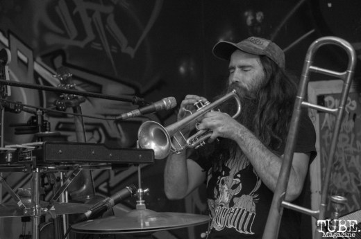 John Underwood, G.O.A.T. Fest, The Colony, Sacramento, CA. October 5, 2018. Photo Benz Doctolero