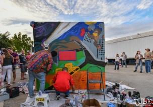 Crazy collaboration, Work in Progress, Tin Can Studios, Sacramento, CA, September 30, 2018. Photo by Daniel Tyree
