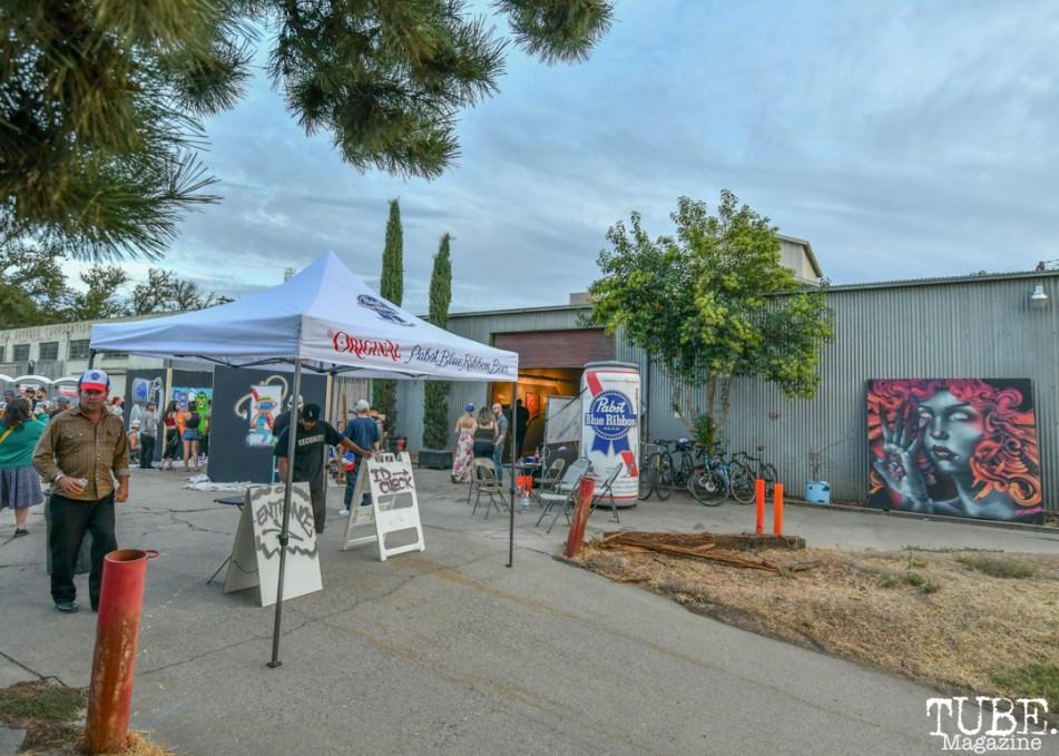 Work in Progress, Tin Can Studios, Sacramento, CA, September 30, 2018. Photo by Daniel Tyree