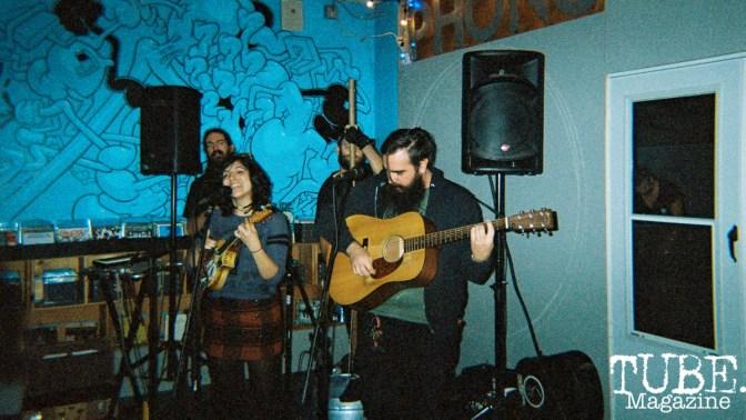 Dandelion Massacre, Sacramento is Burning Release Party, Phono Select Records, Sacramento CA. Photo Benz Doctolero.