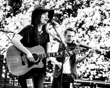 Heather Evans Band, CIP, Sacramento CA. Photo Mickey Morrow