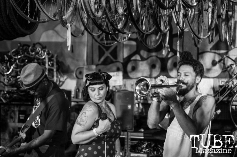 Sacto Storytellers, Sacramento Bicycle Kitchen, Sacramento, CA. May 11, 2019. Photo Benz Doctolero