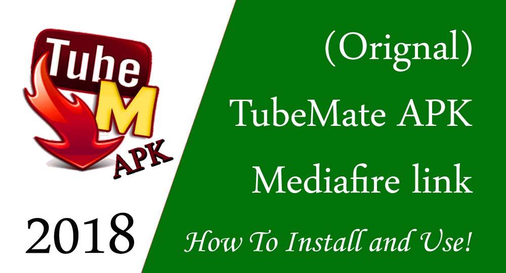 tubemate download 2018 – Working APK (Old & Original)