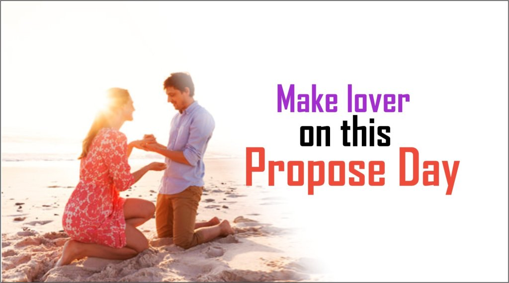Make lover on this propose day-tubertip.com