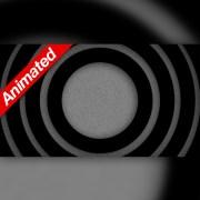 Video Transition Black Circles