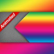 Video Transition Left Rainbow