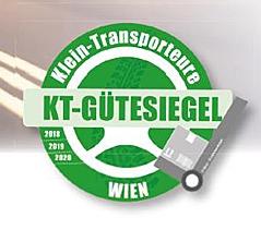KT-Gütesiegel der Kleintransporteuere Wien