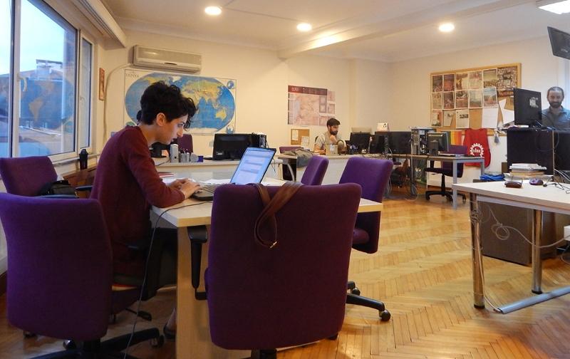 Redaktionsräume