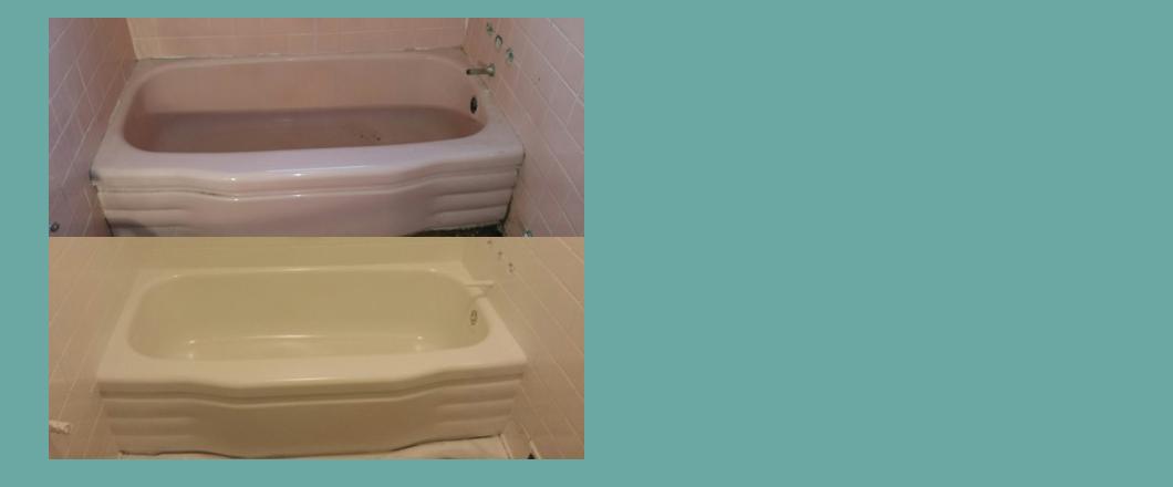 bathroom shower tile refinishing