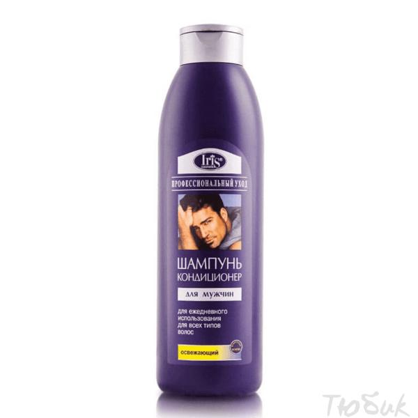 Шампунь-кондиционер для мужчин освежающий Iris
