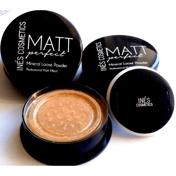 Пудра рассыпчатая MATT perfect Ines Cosmetics