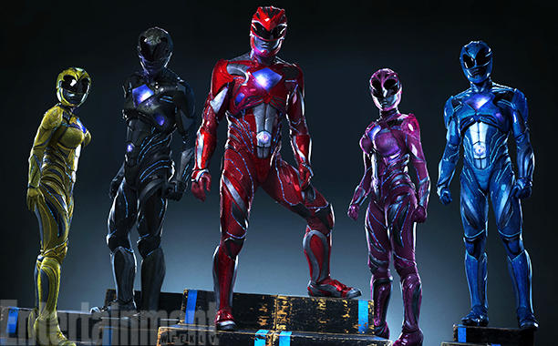 New Power Rangers Suits