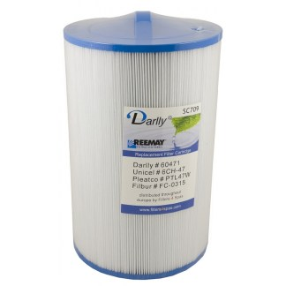 Darlly Cartridge Filter 60471 PTL47W 6CH-47 For Costco HydroSpa Sundance LA Spas